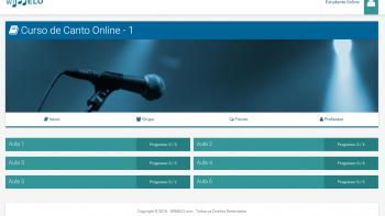 Canto e Técnica Vocal - 1 - Sala de Aula