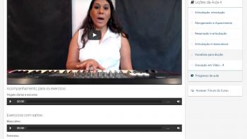 Canto e Técnica Vocal - 1 - Exemplo de Lição
