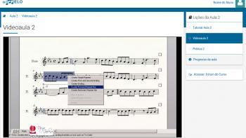 Exemplo de Videoaula do curso de Finale