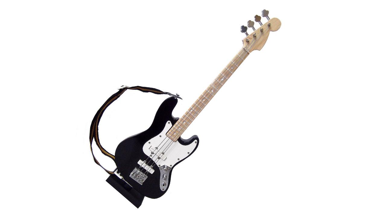 Circuito Eletrico Jazz Bass : Miniatura contrabaixo elétrico jazz bass cm